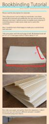 Bookbinding Tutorial by JamesDarrow