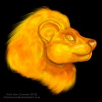 Gold Lion by Constat
