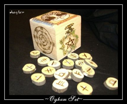 Ogham set by Skayler