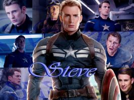 Captain America/Steve Rogers by MsWillow999