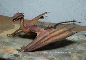 Dragon painted. by GalileoN