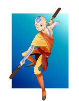 Aang: The Avatar by Jin-Sayo