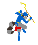 Sly Cooper back in the fight! by TreyTheShiba