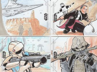 More old Star Wars Cards by CliffThomas