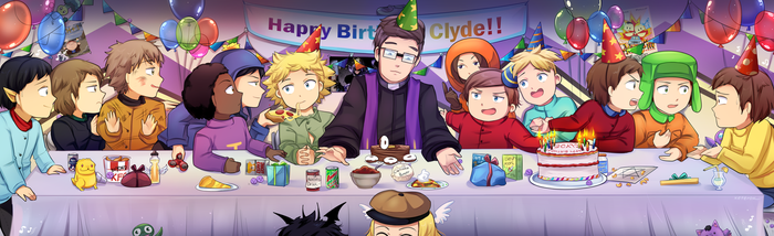 Clyde's Birthday by keterok