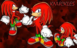 Knuckles Wallpaper by bowtiesrainbowcoats