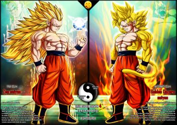 True Super Saiyan 4 fan concept by xXLightsourceXx