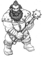 A dwarf with a vengeance by SOLIDToM