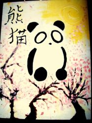 Panda Bear by siilentlullabie