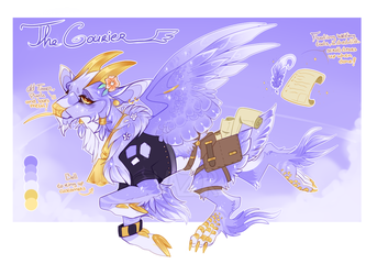 THE COURIER-OTA--closed- by VAZ0R