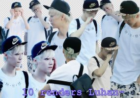 Luhan render pack :v by Luhye