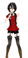 VOCALOID3 Clara - MMD DL by GABURrU