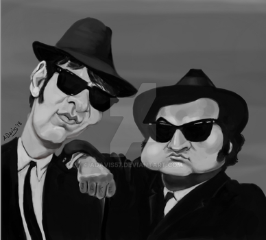 Blues Brothers by adavis57