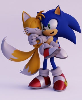 (Sonic)-Sontails Carrying by CutieTree