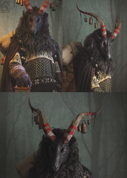 Yule Goat Costume #2 by Nymla