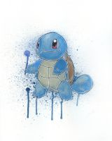 Squirtle by LukeFielding