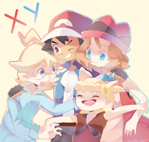 XY Dorks by Sonikku-Star