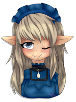 [Commu] Azure - Noryll (Headshot) by FuyonaSoul