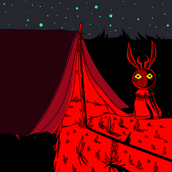 my tent by Anax253