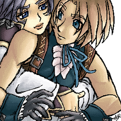 Zidane and Kuja by captainpenko