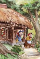 Wrong Little House In The Forest by asiapasek