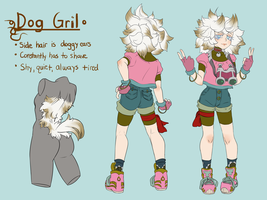 Updated Dog Gril Ref by Zeighous