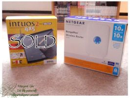 Netgear FOR SALE by lilly-peacecraft
