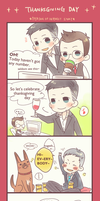 [person of interest] thanksgivings day by panda423