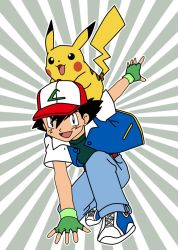 Ash and Pikachu by analsheepprobe