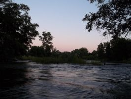 Sunset On The American River 2 by anrandap