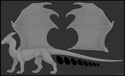 Adoptable/Design Dragon Base (New 7.30.17) by SoulsplosionAdopts
