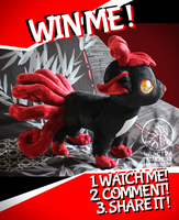 CLOSED GIVE-AWAY Nightmare Vulpix by Peluchiere