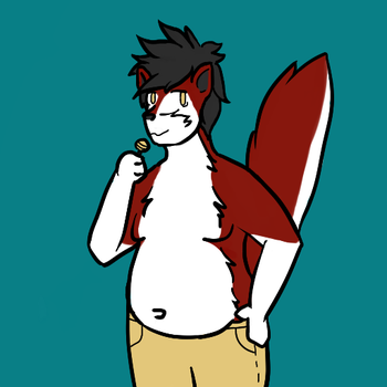 WOW LOOK AT THIS FAT HUSKY by CN33