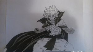 [Fairy Tail] Natsu after time skip by TheTanlor