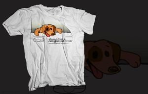 Dogs Are Happy T-shirt by james-talon