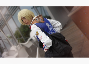 Yuri Plisetsky Cosplay /// YURI ON ICE by betweenmyface