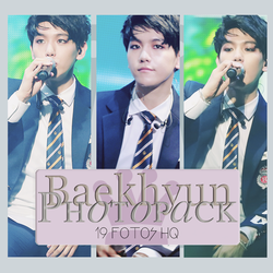 Photopack Baekhyun - EXO 017 by DiamondPhotopacks