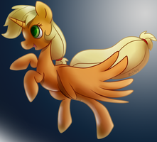Princess Applejack by Zoiby