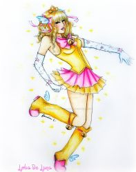Commission: Magical Girl by dontcallmenymphadora