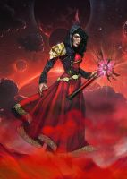 Witch: Mistress of Exitium-Outcast Odyssey Entry by SelectYourself