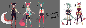 Adoptable Batch 6 [AUCTION][OPEN] by Dehybi-Adopts