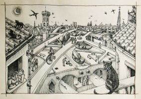 Smeraldina the imaginary city by Panaiotis