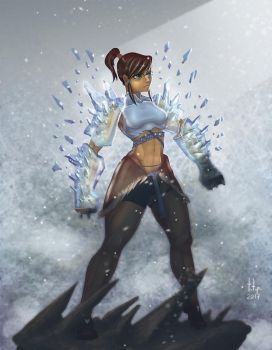 Korra Ice Arms2 by TOTOPO
