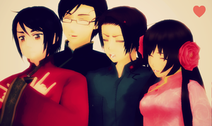 MMD - Chinese Family by Shichi-4134