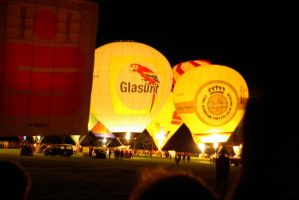 Hot-Air Balloons Glowing by TheConstructor