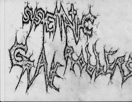 Sketch I: band logo by SilentBloodyNight