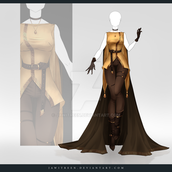 (CLOSED) Adoptable Outfit Auction 257 by JawitReen