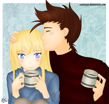 ToS - Coffee Date by Asatsuyu