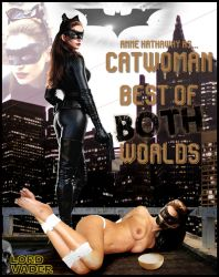 Anne Hathaway as Catwoman, Best of Both Worlds by lordvadersempire
