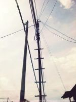 The Electric Pole by MikaVKlover
